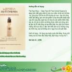 Tinh chất giúp chữa trị mụn viêm tái sinh tế bào da -Clean Face Oil Free Control Essence