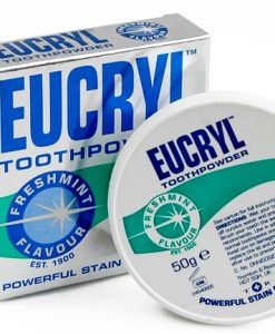 Bột tẩy trắng răng Eucryl Tooth Powder 50g