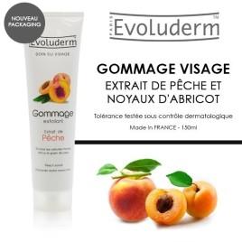 evoluderm-gommage-exfoliant-visage-extrait-de-peche-150ml