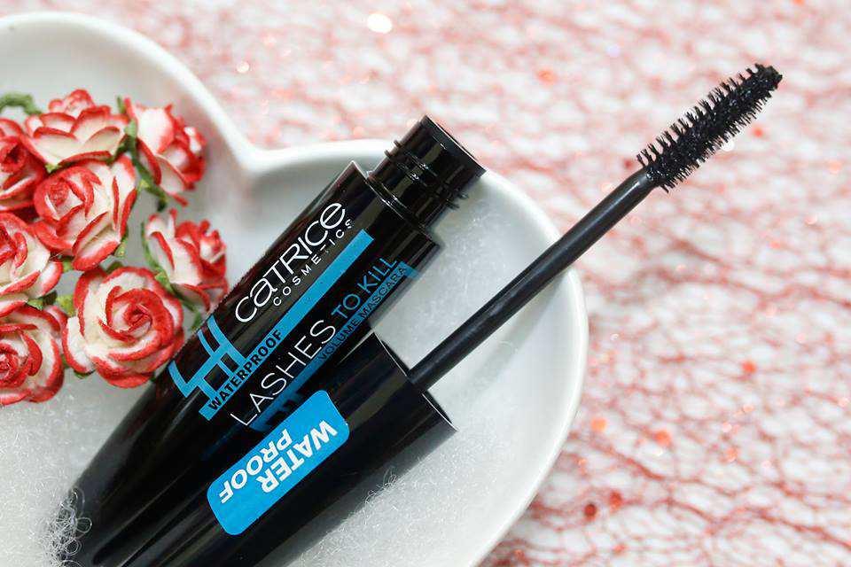 Kết quả hình ảnh cho Mascara Catrice Lashes To Kill Waterproof VolumE