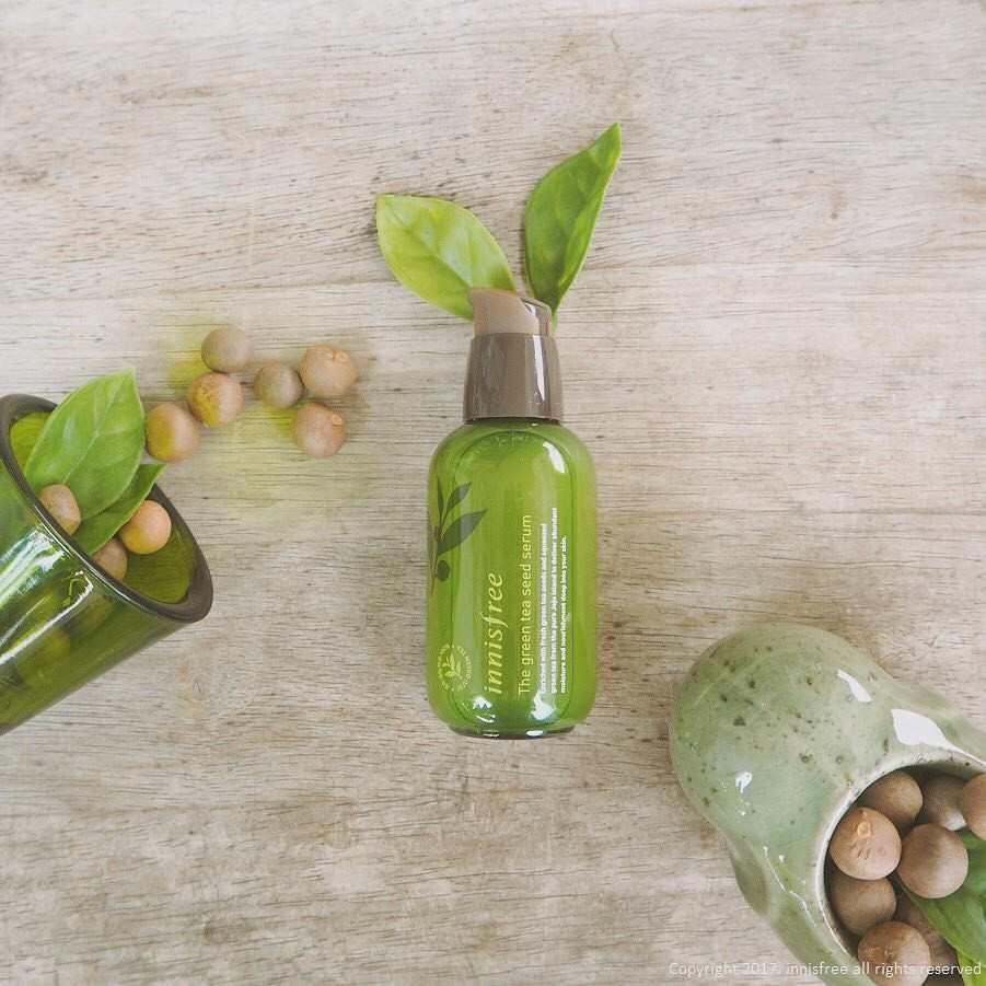 The green tea seed serum