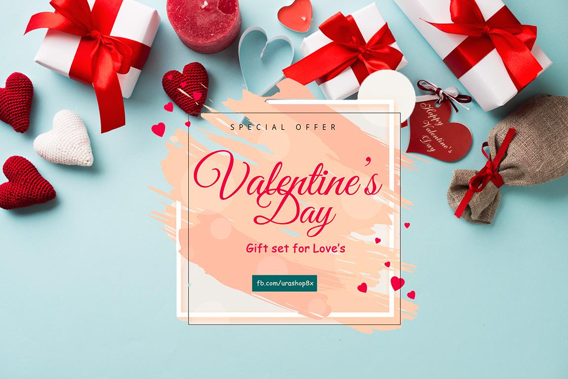 Set quà tặng Mĩ phẩm Valentine