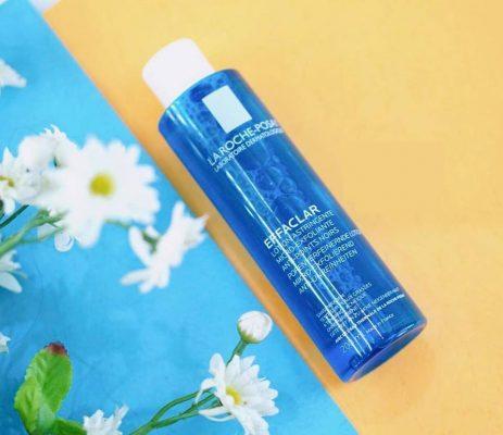 Nước hoa hồngLaRoche-Posay EFFACLAR Astringent Micro-ExfoliatingLotion.