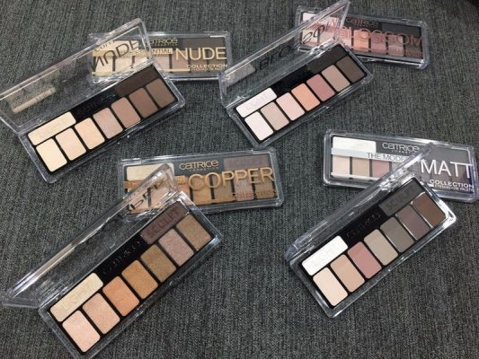Bảng mắt Catrice The Essential Nudes