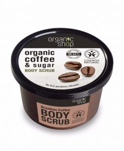 tẩy da chết toàn thân Organic coffee & sugar
