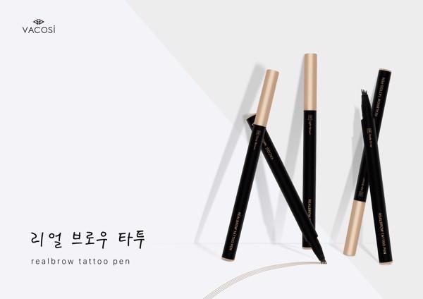 Bút kẻ mày sợi 3D - Vacosi Real Brow Tatoo Pen | Urashop