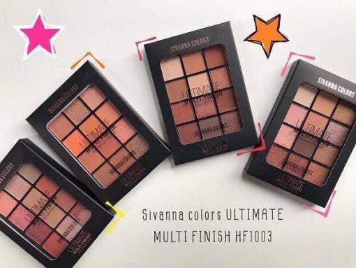 Phấn mắt Sivana Colors - Ultimate Multi Finish HF 1003