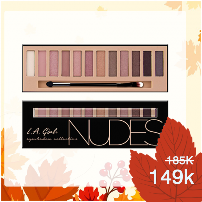 Phấn mắt LA Girl Nudes Eyeshadow Palette