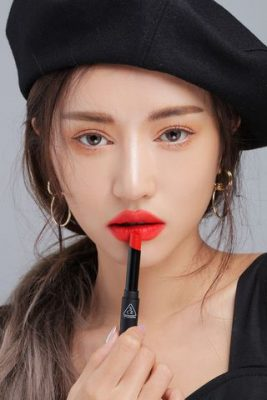 Son 3ce Slim Velvet Lip Color - #Vermilion