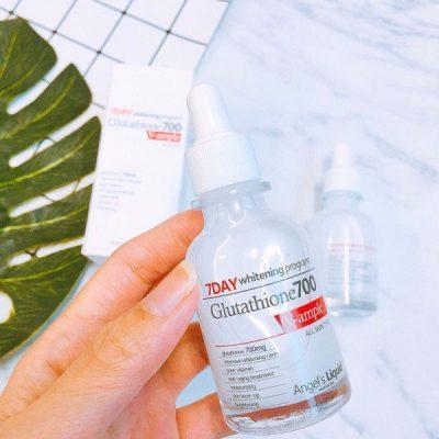 Serum 7day Whitening Program Glutathione 700 V-Ample (30ml)