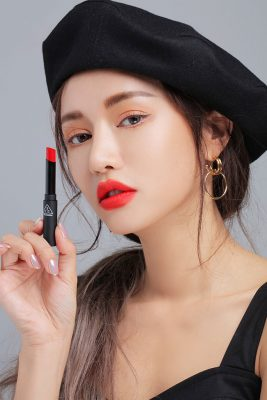 Son 3ce Slim Velvet Lip Color – #TRUE RED