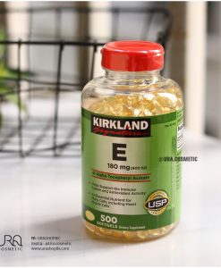 Vitamin E Thiên Nhiên 400 I.U Kirkland Signature 500 Viên