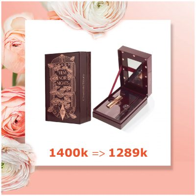 Set Charlotte Tilbury Film noir night: 1400k -> 1289k