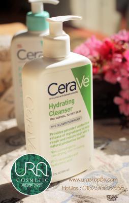 Sữa rửa mặt CeraVe Hydrating Cleanser là một loại sữa rửa mặt lành tính, dịu nhe, và chứa nhiều chất có lợi cho da.
