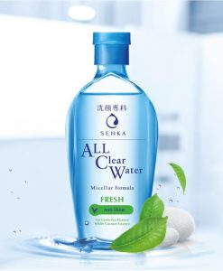 Nước tẩy trang Senka All Clear Water Fresh 230ml
