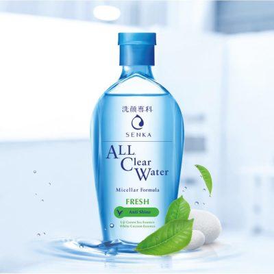 Nước tẩy trang Senka All Clear Water Fresh 230ml