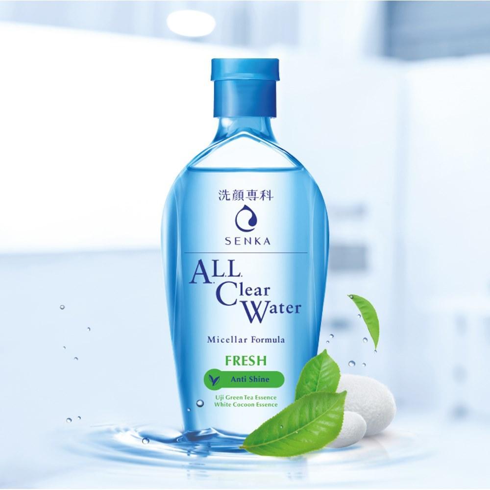 Nước tẩy trang Senka All Clear Water Fresh 230ml | Urashop