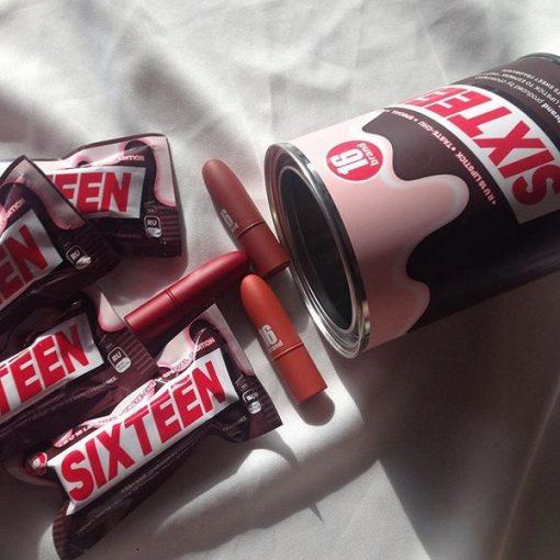Son Thỏi Lì 16 Brand SIXTEEN Taste Chu Edition