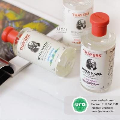 Thayers Alcohol-Free Coconut Water Witch Hazel Toner (255.000 VNĐ/355ml): công thức không chứa cồn với thành phần nước dừa giúp cấp ẩm, kháng khuẩn và chống lão hoá da.