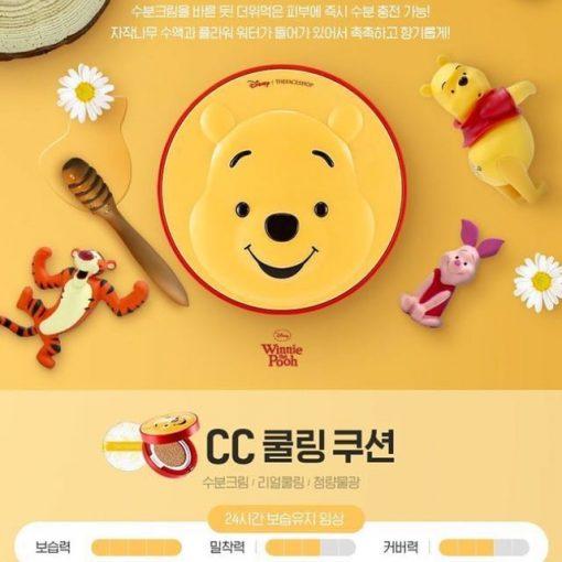 Phấn nước BB - CC Cushion THE FACE SHOP - Phiên Bản DISNEY